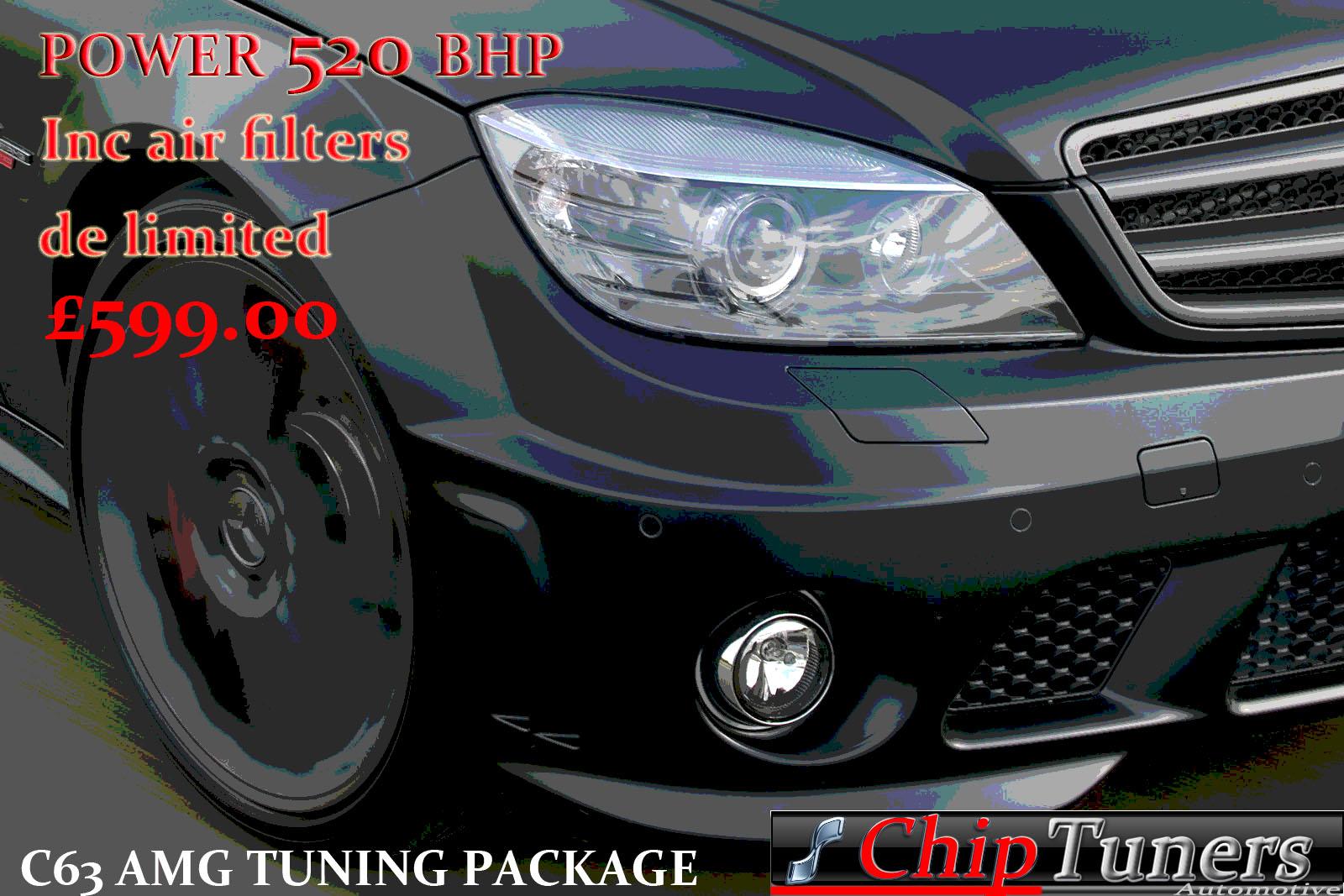 Mercedes-C63-AMG ecu tuning - ECU Remapping | Diesel