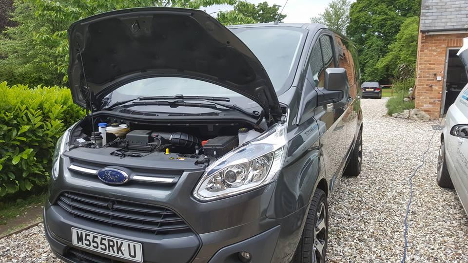 New Ford Transit 2016 Chip Tuning ECU Remap