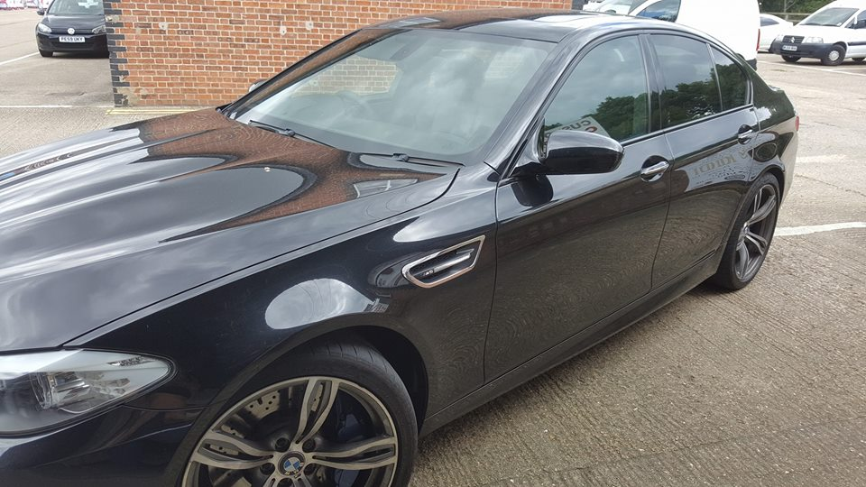 BMW M5 F10 +100bhp with 120 nm