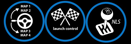 Map Switching 4 maps to choose from!! Launch Control + NLS